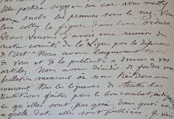 7 lettres du dessinateur Maurice Leloir à Maurice Feuillet.: Leloir Maurice 1853 1940