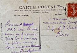 Emouvante lettre d'Apollinaire à Max Jacob écrite: Apollinaire Guillaume 1880