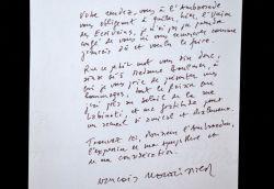 François Nourissier prend le soleil à l'Union des Écrivains.: Nourissier François 1927 2011