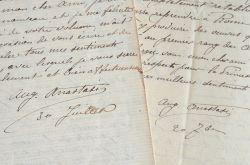 La santé du peintre Auguste Anastasie se: Anastasi Auguste 1820