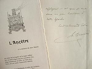 Tonkin : poème de Brenier à la mémoire de Jean Dupuis.: Brenier Henri 1867 1962