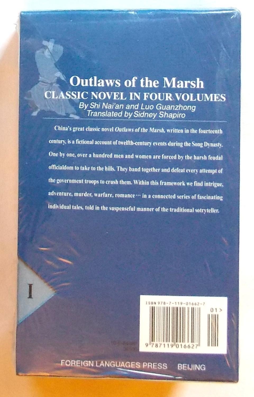 ... 4 Outlaws of the Marsh (The Water Margin), Translated By Sidney  Shapiro, 4