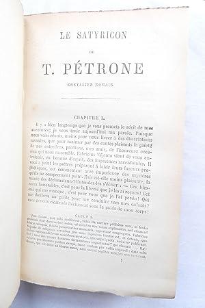 Oeuvres Completes De Petrone, Avec La Traduction Francaise De La Collection Panckoucke Par M. ...