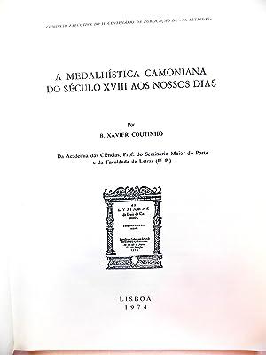 A Medalhistica Camoniana Do Seculo XVIII Aos: Coutinho, B. Xavier
