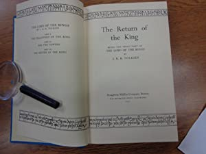 Return of the King, Being the Third Part of 'The Lord of the Rings': Tolkien, J. R. R.