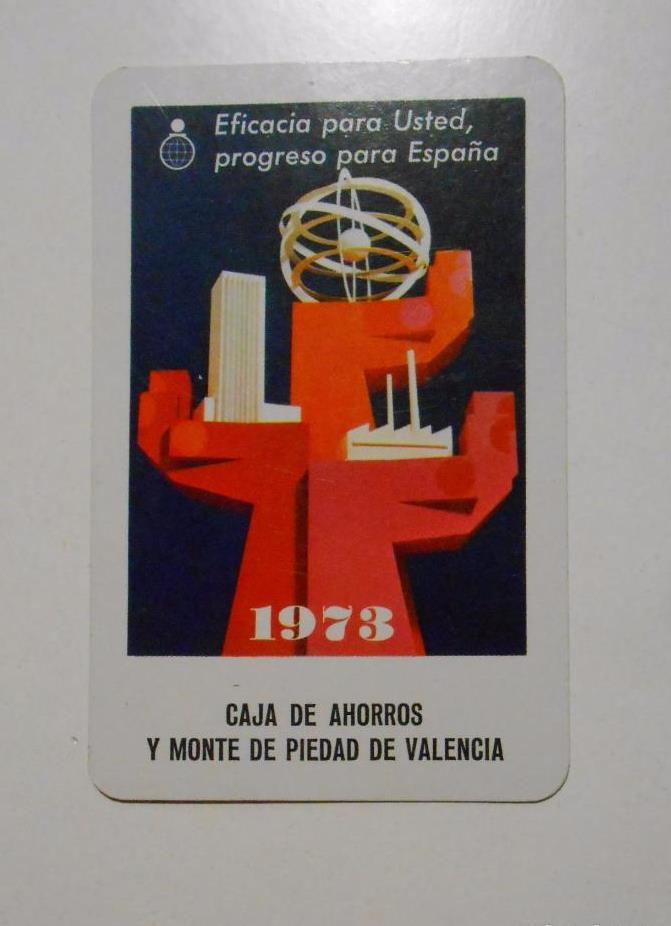 Calendario 1973.Calendario De Bolsillo Fournier Caja De