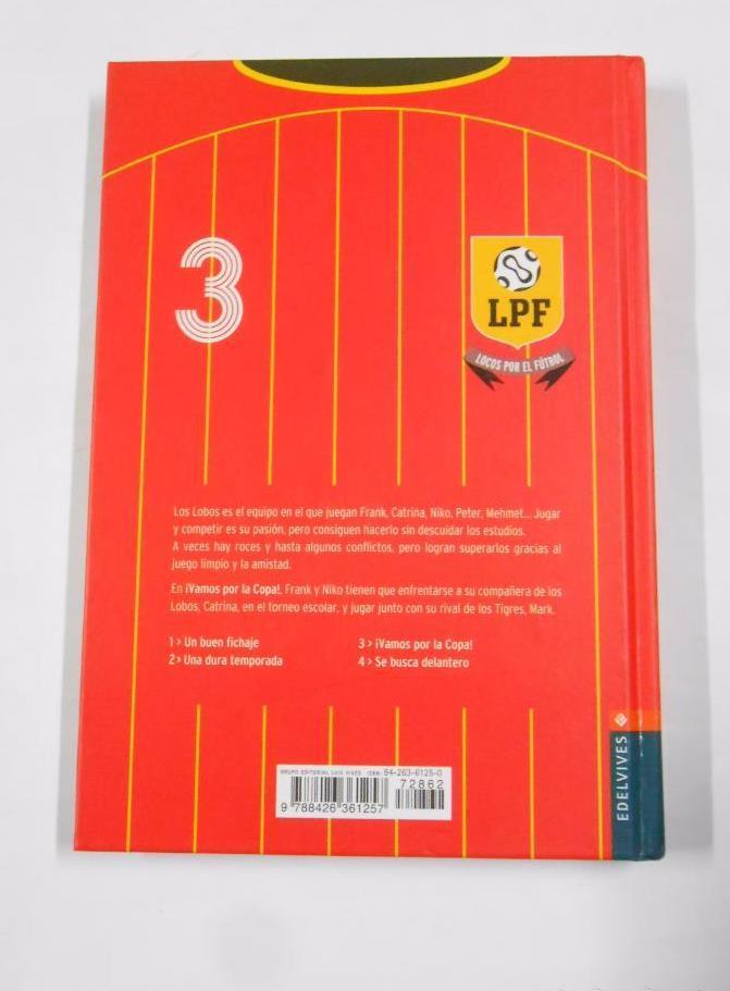 LOCOS POR EL FUTBOL. COLECCION COMPLETA. 6 LIBROS. FRAUKE NAHRGANG.  EDELVIVES. 85e425fde4c2c