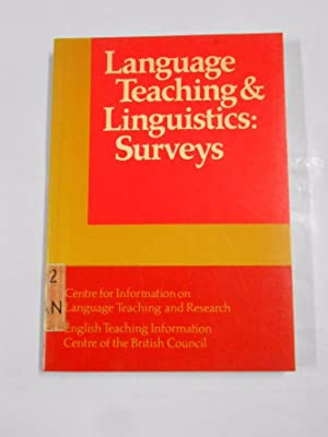 LANGUAJE TEACHING & LINGUISTICS: SURVEYS. VALERIE KINSELLA. TDK112