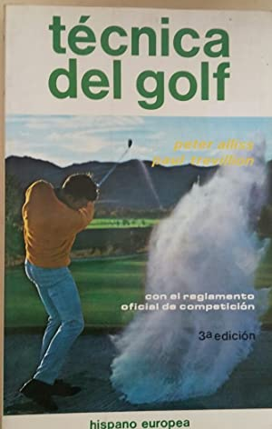 Técnica del golf - Peter Alliss Paul Trevillion - tdk273