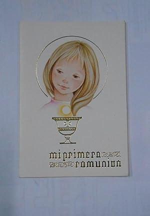 f51957f0a9 RECORDATORIO DE PRIMERA COMUNION. LOGROÑO IGLESIA DE SANTA TERESITA 31 DE  MAYO DE 1981.