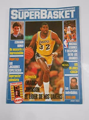 REVISTA SUPERBASKET. SUPER BASKET Nº 11. ENERO 1987. ENTREVISTA MAGIC JOHNSON. TDKR34