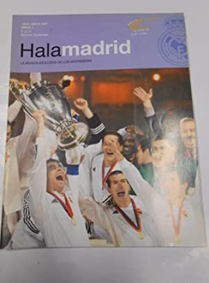 REVISTA HALA MADRID Nº 3. JUNIO AGOSTO 2002. LA REVISTA EXCLUSIVA DE LOS MADRIDISTAS. TDKR23