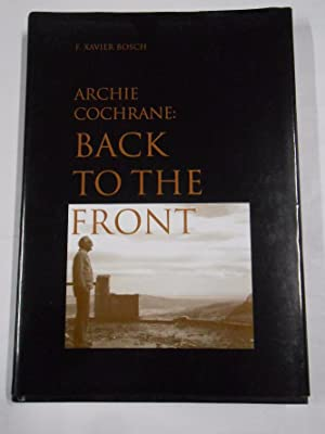 BACK TO THE FRONT. - ARCHIE COCHRANE - F. XAVIER BOSCH. TDK263