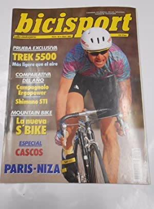 REVISTA BICISPORT Nº 36. ABRIL 1992. PARIS - NIZA. TDKR23