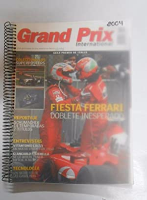 REVISTA GRAND PRIX INTERNATIONAL FORMULA 1 Nº 18, 19, 20, 21, 22, 23. AÑO 2004. TDKR3