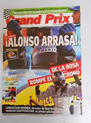 REVISTA GRAND PRIX INTERNATIONAL FORMULA 1 Nº 27. ABRIL 2005. GP BAHREIN. ALONSO ARRASA. TDKR3