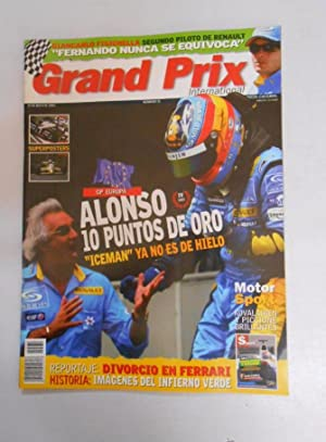REVISTA GRAND PRIX INTERNATIONAL FORMULA 1 Nº 31. MAYO 2005. GP EUROPA ALONSO 10 PUNTOS DE ORO TDKR3