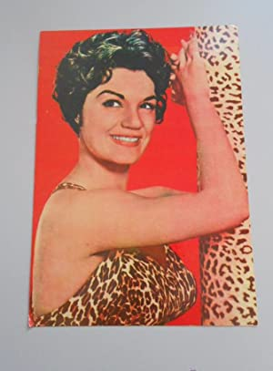 POSTAL OSCAR COLOR. Nº 159. CONNIE FRANCIS. TDKP5