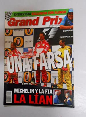 REVISTA GRAND PRIX INTERNATIONAL FORMULA 1 Nº 33. JUNIO 2005. GP ESTADOS UNIDOS UNA FARSA. TDKR3