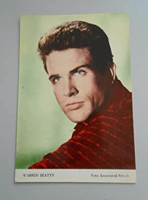 FOTO POSTAL WARREN BEATTY. FOTO ASSOCIATED BRITISH. TDKP5