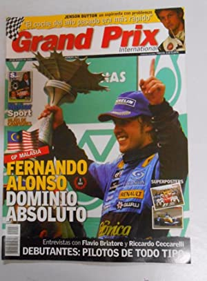 REVISTA GRAND PRIX INTERNATIONAL FORMULA 1 Nº 26. MARZO 2005. GP MALASIA. FERNANDO ALONSO. TDKR3