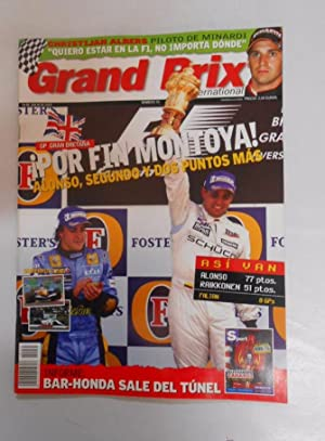 REVISTA GRAND PRIX INTERNATIONAL FORMULA 1 Nº 35. POR FIN MONTOYA. GP GRAN BRETAÑA. TDKR3