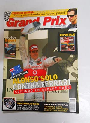 REVISTA GRAND PRIX INTERNATIONAL FORMULA 1 Nº 68. MARZO 2007. ALONSO SOLO CONTRA FERRARI. TDKR3