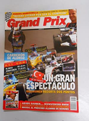 REVISTA GRAND PRIX INTERNATIONAL FORMULA 1 Nº 38. AGOSTO 2005. GP TURQUIA UN GRAN ESPECTACULO TDKR3
