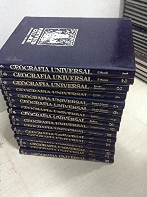 GEOGRAFIA UNIVERSAL, INSTITUTO GALLACH, COMPLETA 16 VOL
