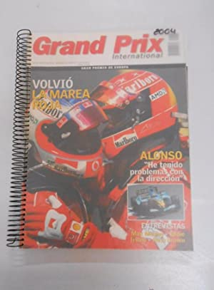 REVISTA GRAND PRIX INTERNATIONAL FORMULA 1 Nº 10, 11, 12, 13, 14, 15, 16, 17. AÑO 2004. TDKR3