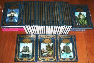 Weltbild-SammlerEditionen - 25 Bände - komplett, z.B.: Jules Verne