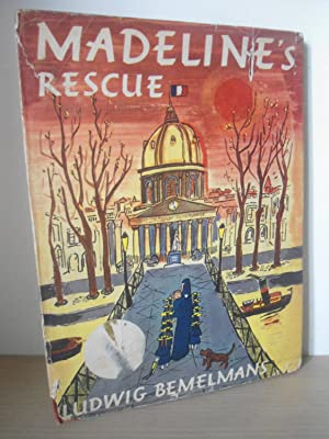 Madeline's Rescue- SIGNED- US 1st Edition 1st: Bemelmans; Ludwig