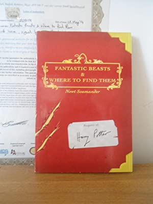 Fantastic Beasts and Where to Find Them-: J. K. Rowling