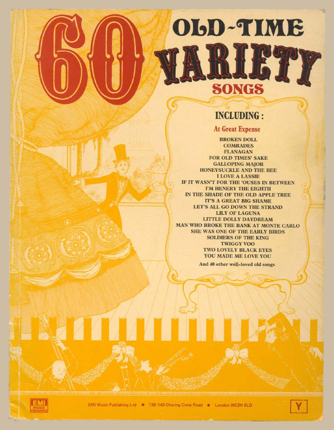 60 Old Time Variety Songs by EMI Music Publishing: EMI Music