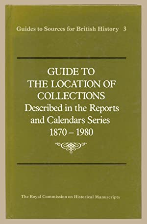 Guide to the Location of Collections Described: Historical MSSCommission