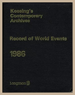 Keesing's Contemporary Archives Record of World Events: KEESING. FRASER, Robert
