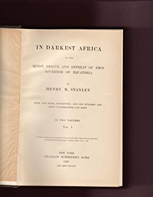 In Darkest Africa - 2 Vol.: Henry M. Stanley