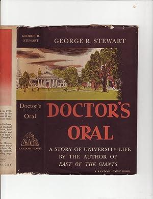 Doctor's Oral: George R. Stewart