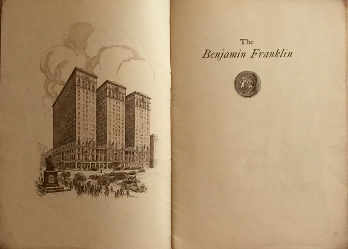 BENJAMIN FRANKLIN HOTEL Benjamin Franklin Hotel [TRUMBAUER]