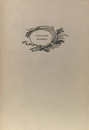 Alexander Anderson: His Tribute to the Wood-Engraving of Thomas Bewick: THOMPSON, LAWRANCE