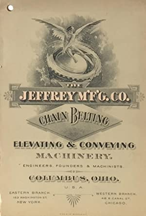 Chain Belting: Elevating and Coveying Machinery: JEFFREY MANUFACTURING CO.