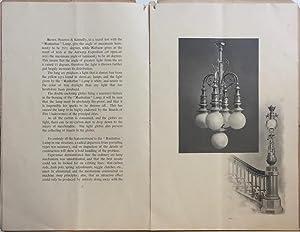 Manhattan Direct-Current Enclosed Arc Lamps.: MANHATTAN GENERAL CONSTRUCTION CO.