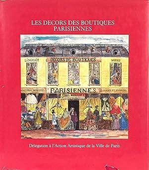 Les Decors des Boutiques Parisiennes: GOMEZ Y CACERES & MARIE ANGE DE PIERREDON