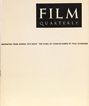 Poetry of Ideas: The Films of Charles Eames: SCHRADER, PAUL