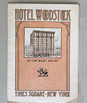 Hotel Woodstock 127-139 West 43rd St.: ANONYMOUS