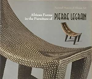 African Forms in the Furniture of Pierre Legrain: PUCINELLI, LYDIA