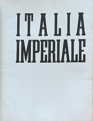 Italia Imperiale: MORGAGNI, MANILO
