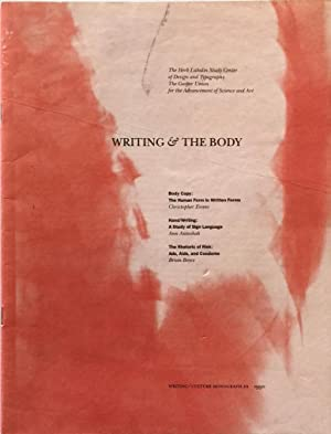 Writing and the Body: LUPTON, ELLEN [ed.]