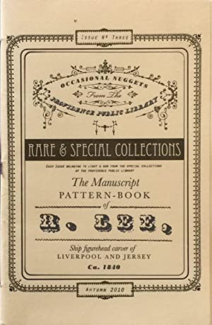 The Manuscript Pattern Book of R. Lee: Ship Figurehead Carver of Liverpool and Jersey Ca. 1840: ...