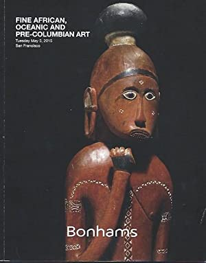 Auction Catalogue) FINE AFRICAN, OCEANIC AND PRE-COLUMBIAN